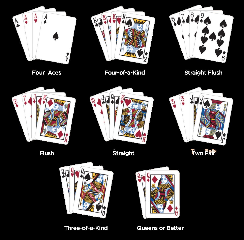Crazy 4 card poker payout