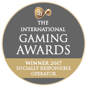 The International Gaming Awards - Winner 2017 Socially Responsible Operator