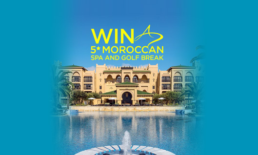 Win a 5* Moroccan Spa and Golf Break at Mazagan